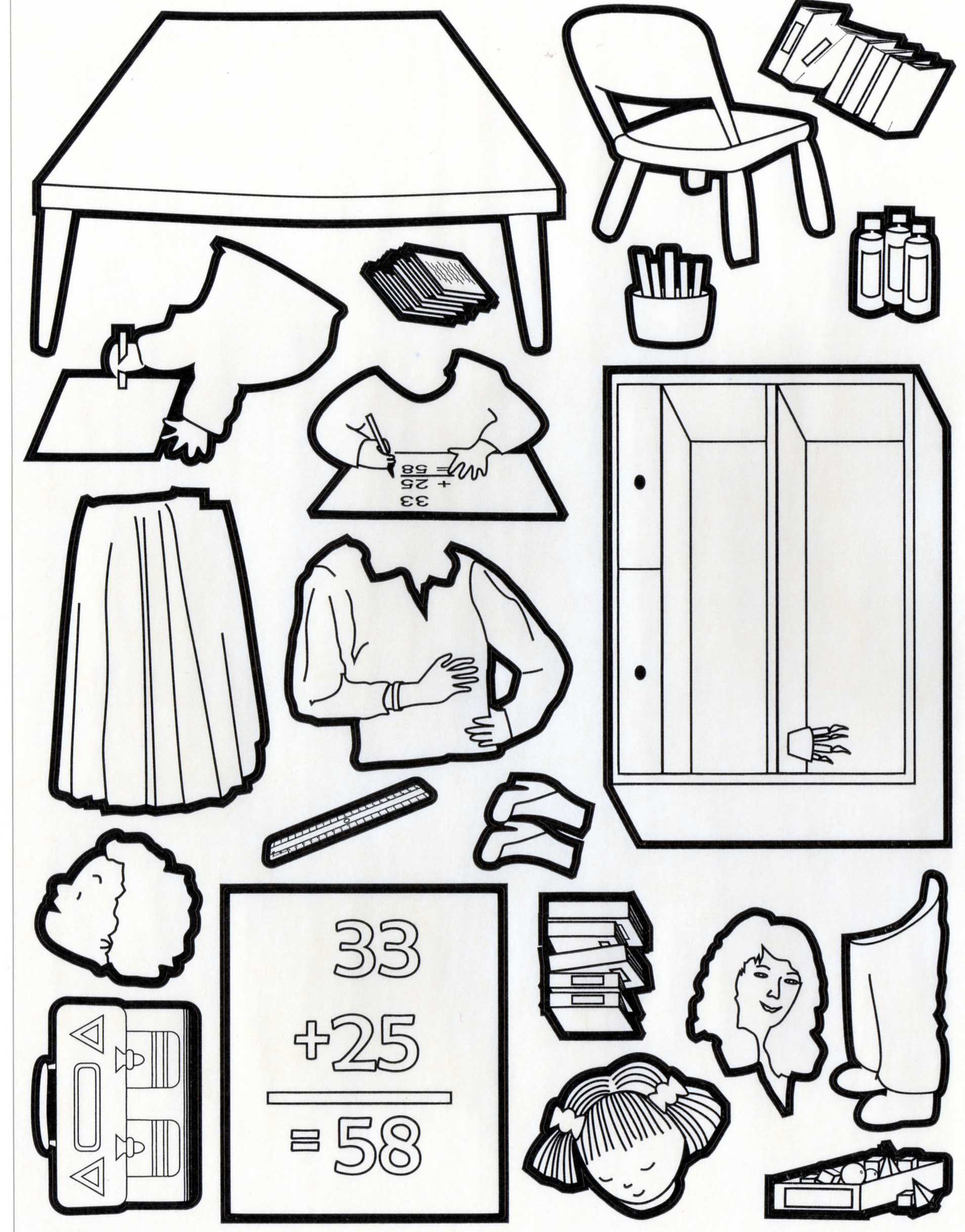 Hervorragend Rentree des classes 4 | Coloriage Rentrée des classes - Coloriages  GO34