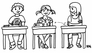 coloriage-rentree-des-classes-7 free to print