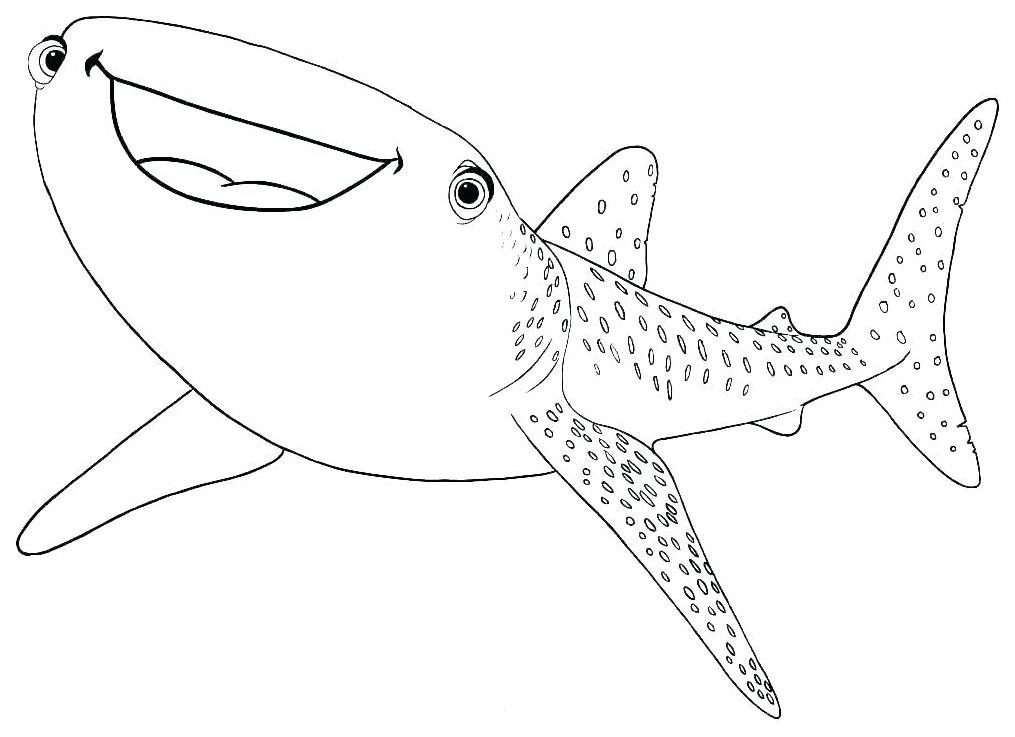 Requin Baleine Coloriages A Imprimer Gratuits Personnages Animaux Heros Fetes