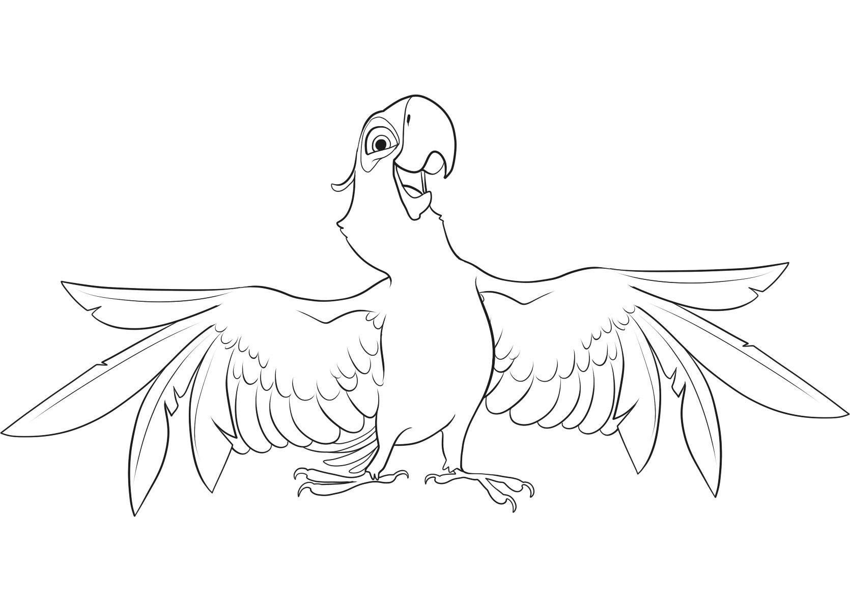 Rio 3 dessin animé