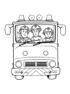 Coloriages camions 23