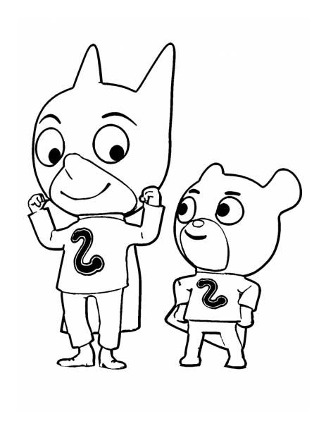Les deux inséparables Sam Sam & Doudou