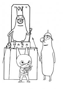 Coloriage de Sam Sam à colorier pour enfants