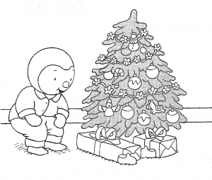 coloriage-sapin-de-noel-7 free to print
