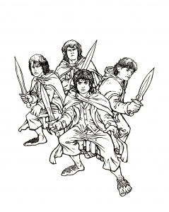 Le seigneur des anneaux : Hobbits