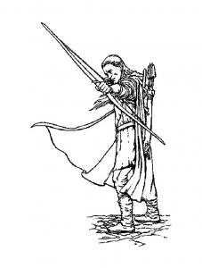 Le seigneur des anneaux : Legolas