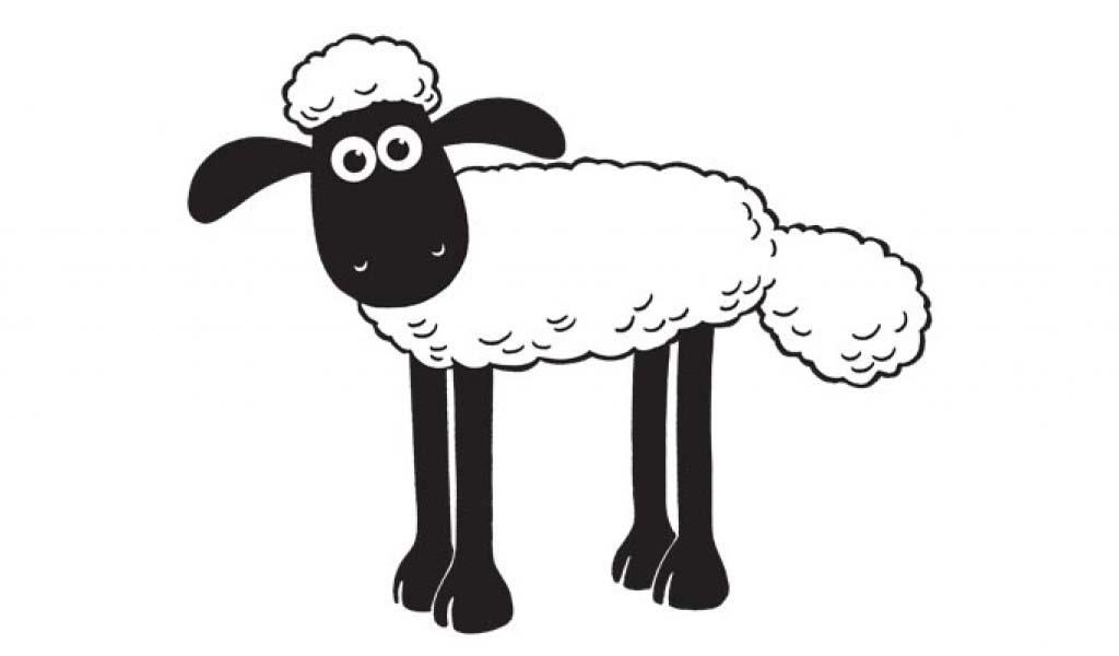 Shaun Le Mouton Seul Coloriage Shaun Le Mouton Coloriages Pour