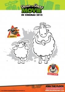 coloriage-shaun-le-mouton-timmy-et-maman free to print