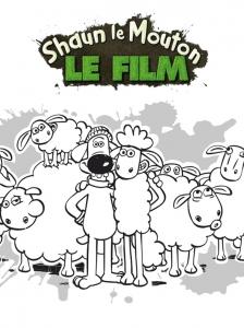 Coloriage Shaun le mouton