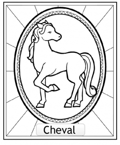 coloriage-signe-astrologique-chinois-cheval-copie free to print