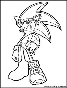 coloriages-sonic-2 free to print