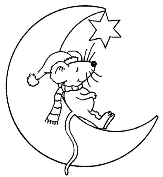 Souris 1 coloriage de souris coloriages pour enfants - Dessin petite souris ...