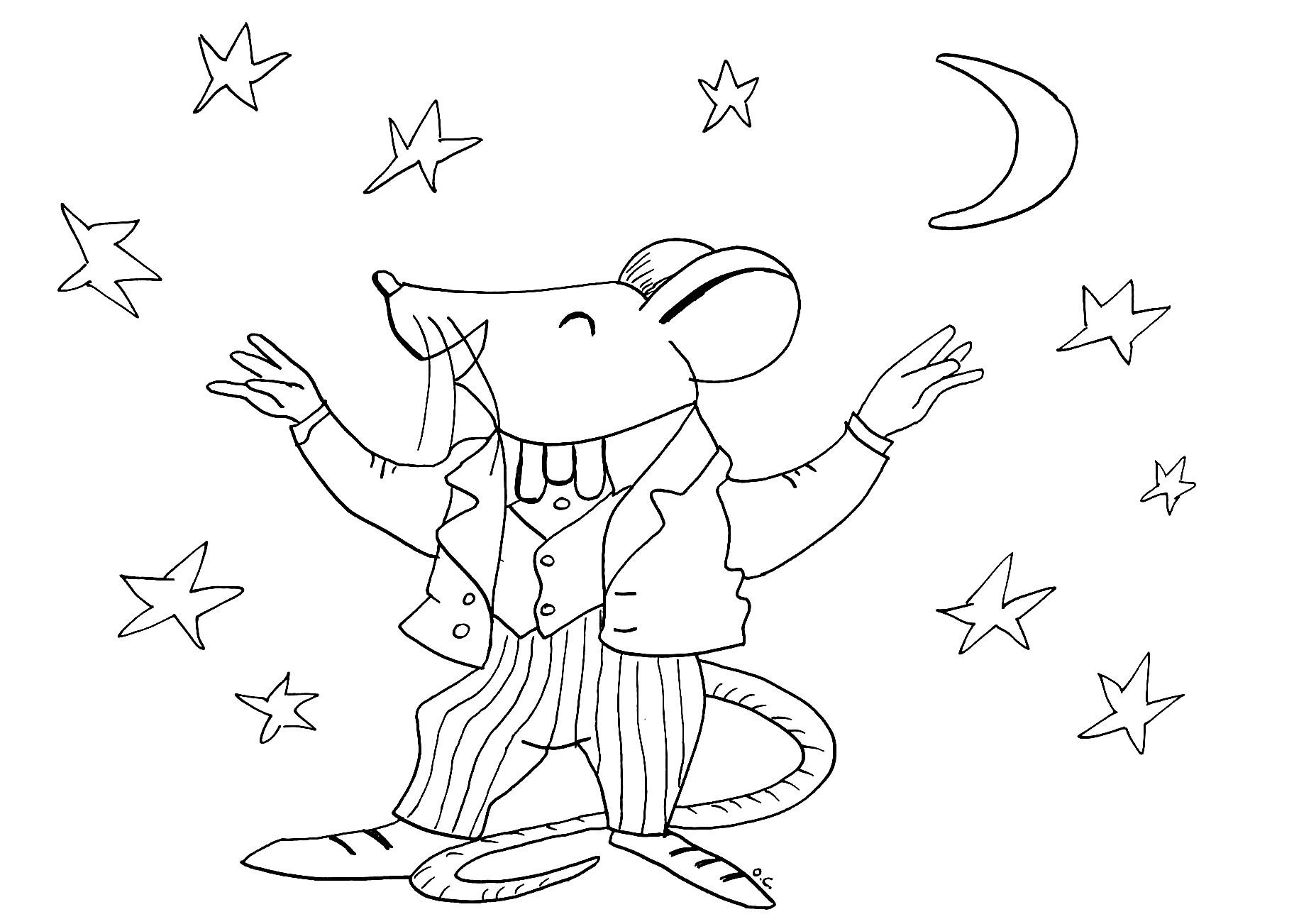 Souris coloriage de souris coloriages pour enfants - Souris coloriage ...