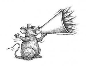 Coloriage de souris pour enfants