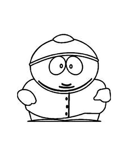 Eric Cartman à imprimer