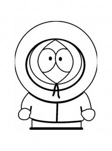 Coloriage de South Park à imprimer gratuitement