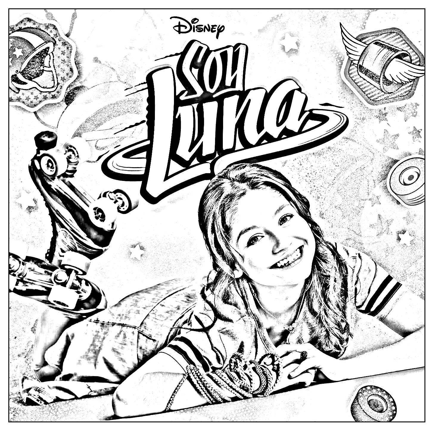 Soy Luna 2 Coloriage Soy Luna Coloriages Pour Enfants