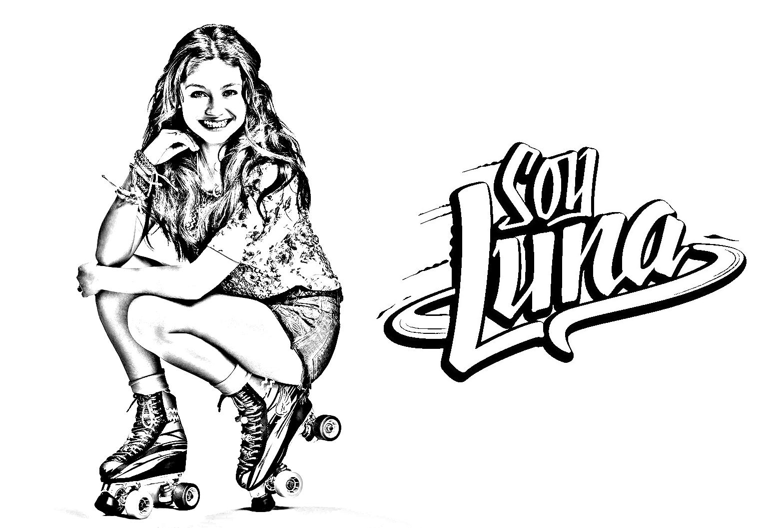 Soy Luna 9 Coloriage Soy Luna Coloriages Pour Enfants
