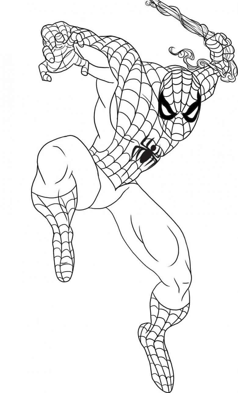 Spider man saute !