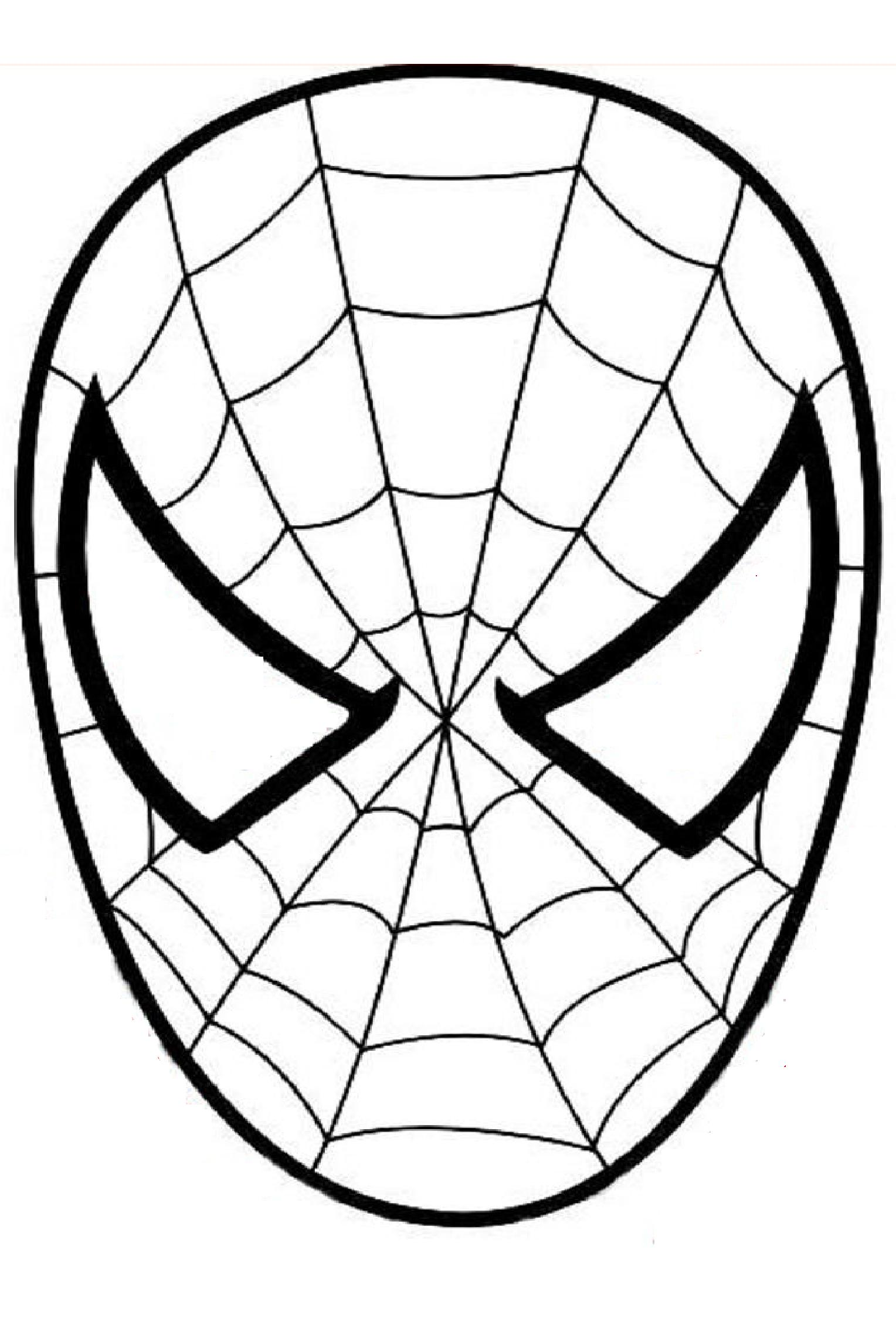 Spiderman 5 - Coloriage Spiderman - Coloriages pour enfants