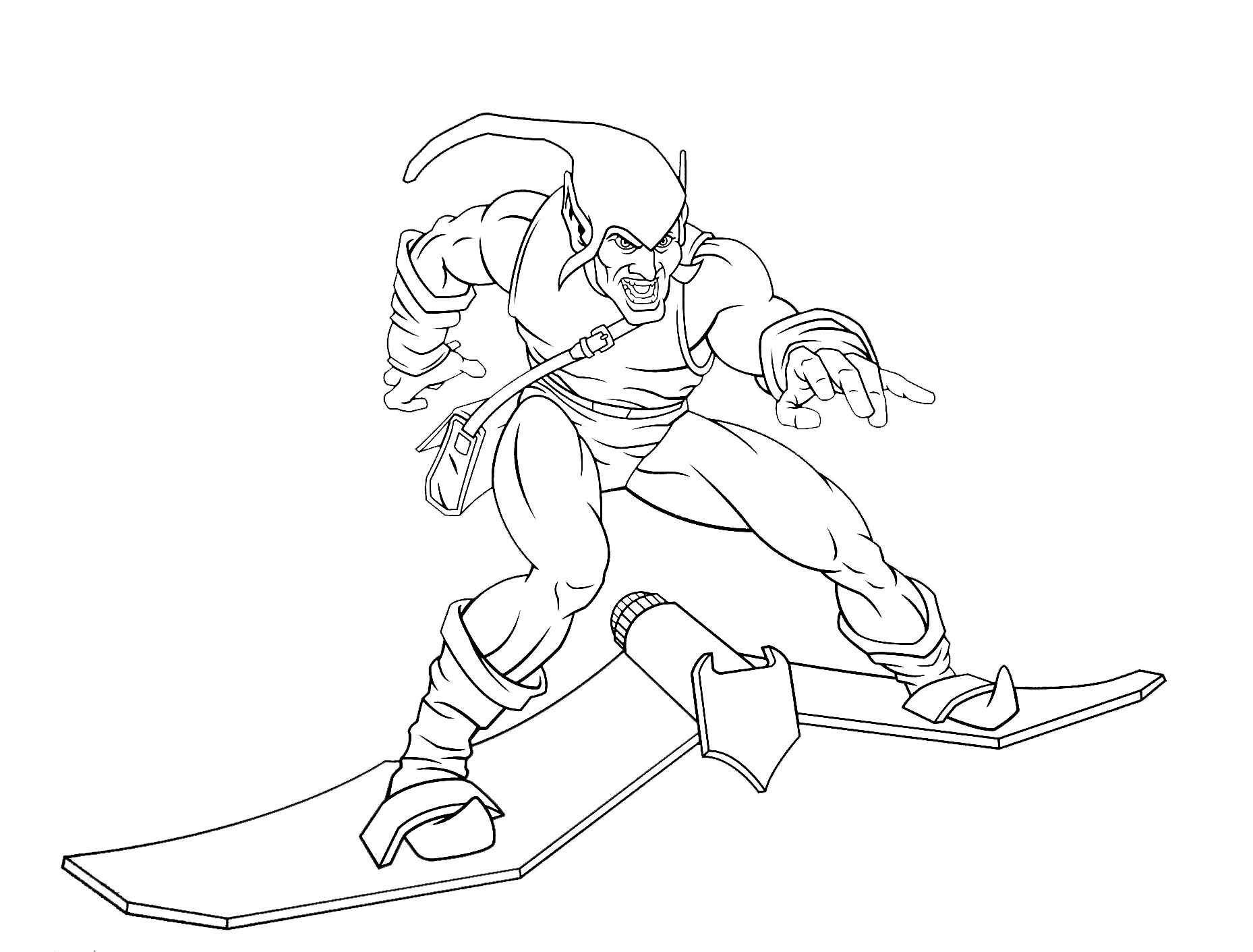 Image de Spiderman à imprimer et à colorier