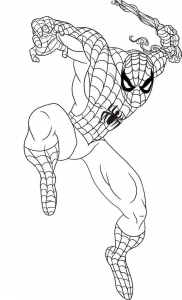 coloriage-spiderman-2