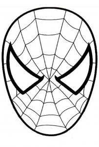 Image de Spiderman à télécharger et colorier