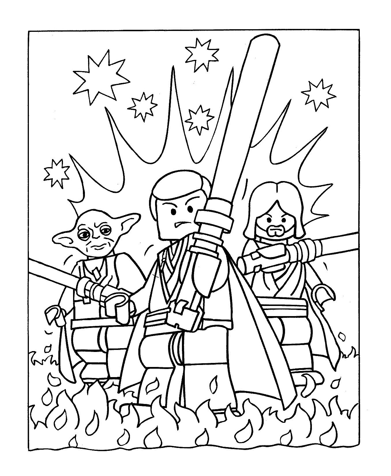 Star Wars 14 Coloriage Star Wars Coloriages Pour Enfants