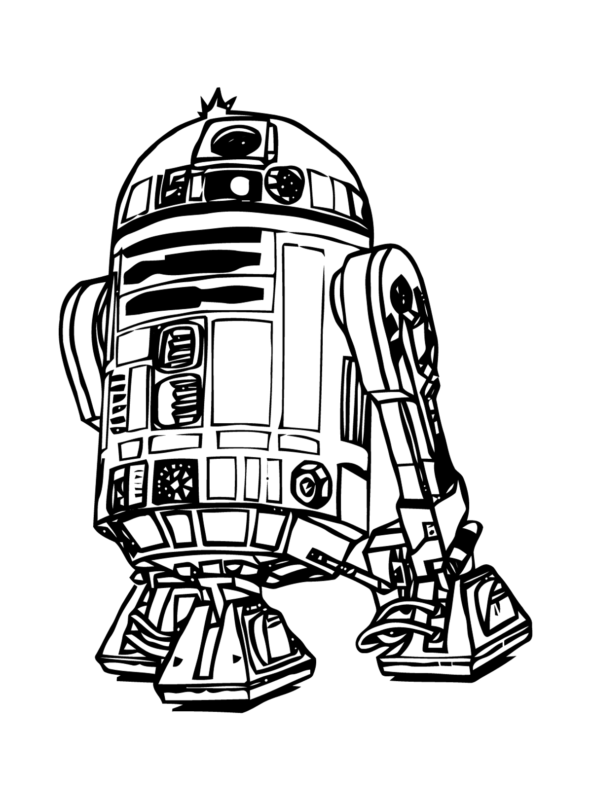 Star wars 9 coloriage star wars coloriages pour enfants - Star wars gratuit ...