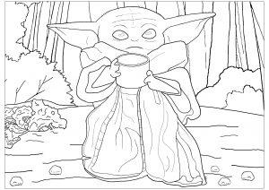 Bébé Yoda (Le Mandalorien)