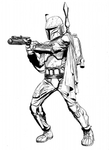 Coloriage star wars 1