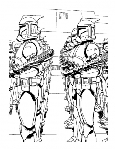 Coloriage star wars 20