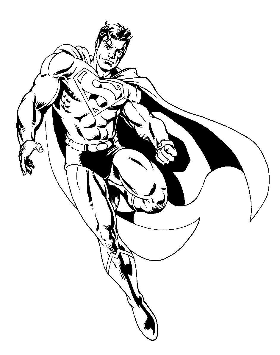 Superman en plein vol