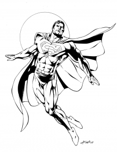 coloriage-superman-2