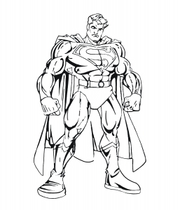 coloriage-superman-5