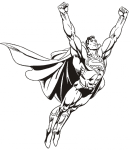 coloriage-superman-8