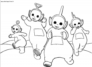 coloriages-teletubbies-1 free to print