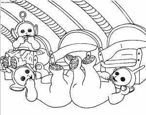 coloriages-teletubbies-2 free to print