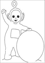 Coloriages teletubbies 3