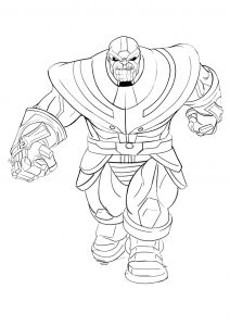 Thanos tout en muscles