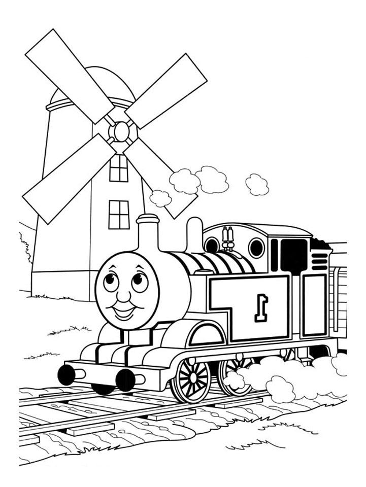 Thomas et ses amis train 13 coloriage thomas et ses amis coloriages pour enfants - Train coloriage ...