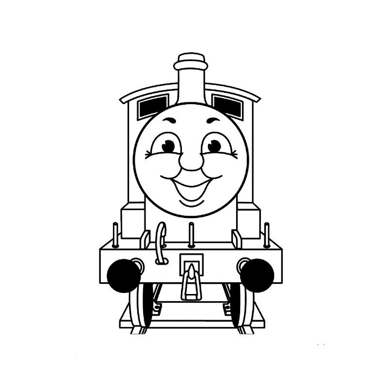 Thomas le train vu de devant
