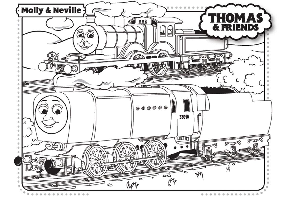 Thomas et ses amis train 19 coloriage thomas et ses amis - Coloriage thomas ...