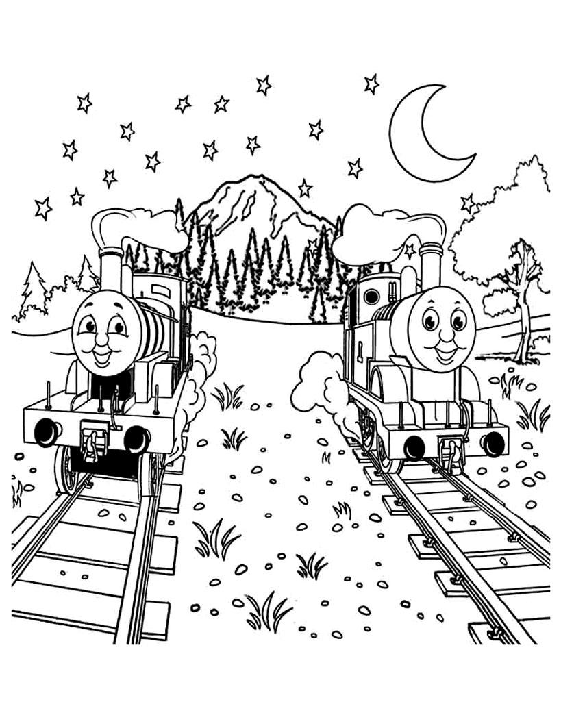 Thomas et ses amis trains 3 coloriage thomas et ses amis - Coloriage thomas ...