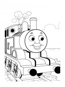 coloriage-thomas-et-ses-amis-train-12 free to print