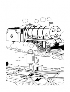 coloriage-thomas-et-ses-amis-train-14 free to print