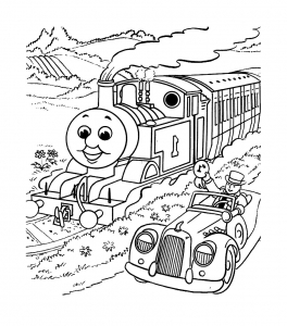 coloriage-thomas-et-ses-amis-train-16 free to print