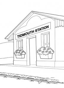 coloriage-thomas-et-ses-amis-train-9 free to print