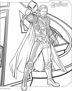thor-avengers free to print