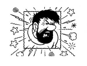 Image de Tintin à imprimer et colorier
